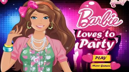 Одевалка Барби вечеринка