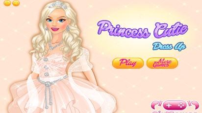 Одень принцессу Барби