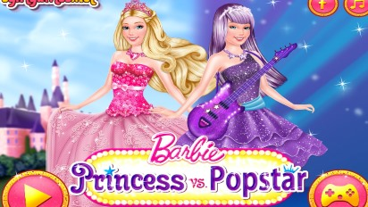 Барби принцесса и поп-звезда