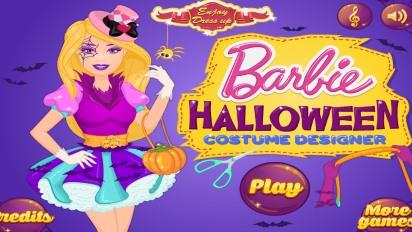 Одевалка Барби Хэллоуин